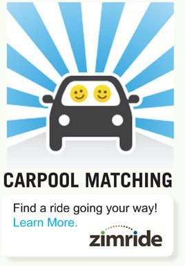 Carpool Matching / Find a ride going your way!
