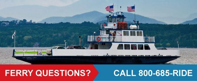 Ferry Questions? Call 800-685-RIDE