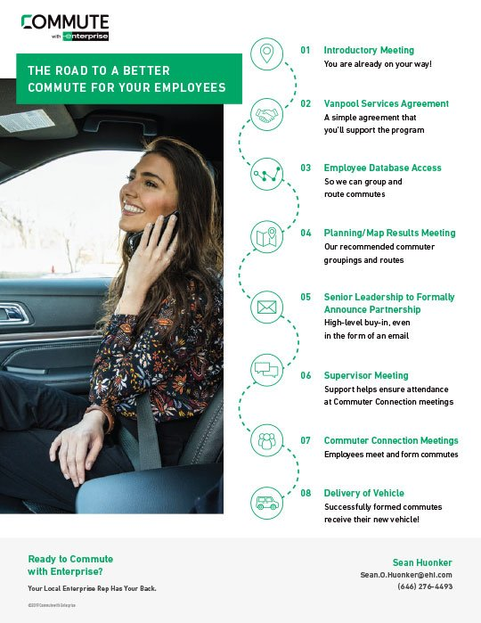 Commute with Enterprise Employer Road Map Thumbnail Image