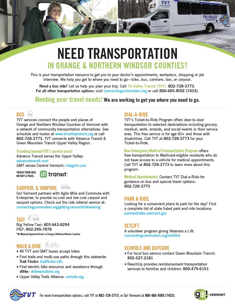 Orange Transport Guide