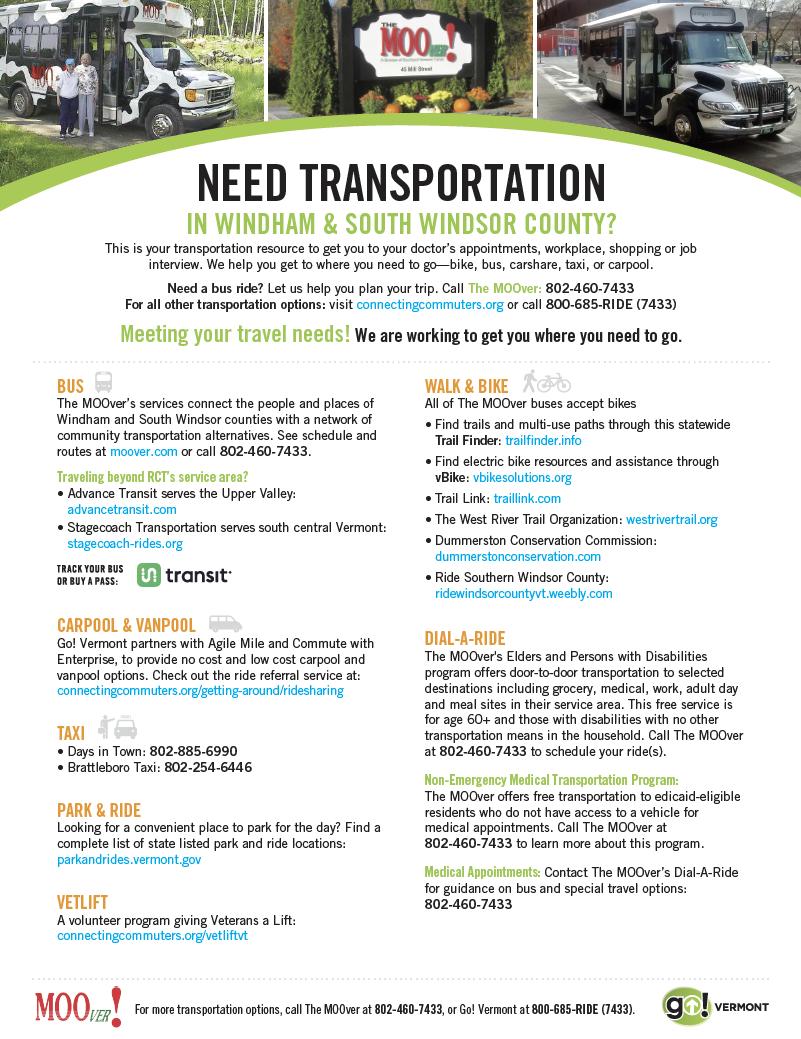 Windham Transport Guide